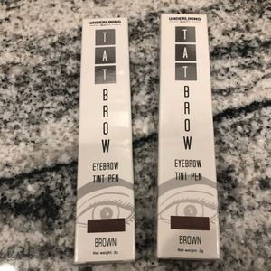 Tat Brow-eyebrow tint pen (lot of 2)